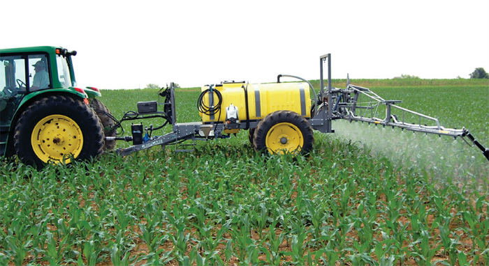 prskanje kukuruza